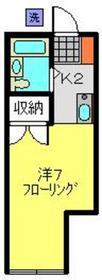 YOKOHAMA GRANDE2階Fの間取り画像
