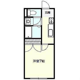 アムールR12階Fの間取り画像