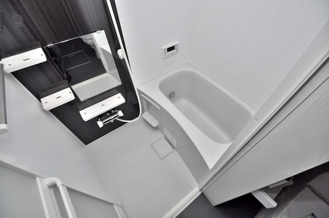 Purosupere弥栄 足を伸ばして、ゆっくりできる大きなバスルームですよ。