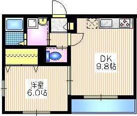 Elle Maison1階Fの間取り画像