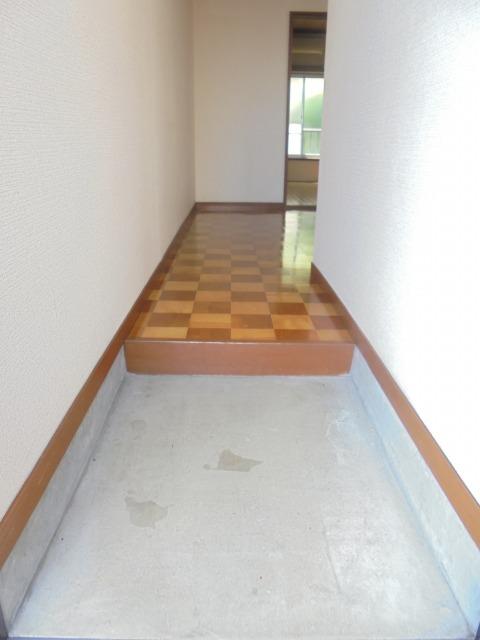 ハイム蘭玄関