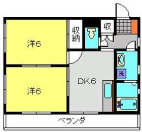 メゾンアリアス3階Fの間取り画像