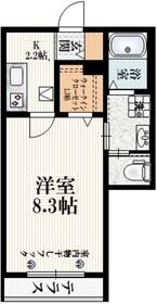 (仮称)阿佐谷南3丁目マンションⅡ1階Fの間取り画像