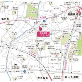 高田馬場パーク・ホームズ案内図