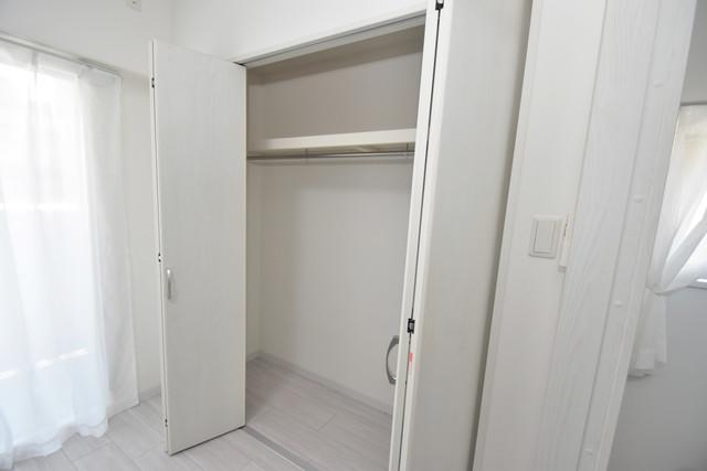 メルベージュ布施 もちろん収納スペースも確保。いたれりつくせりのお部屋です。