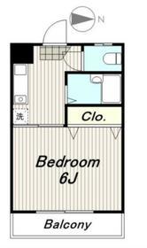 リベール多摩3階Fの間取り画像
