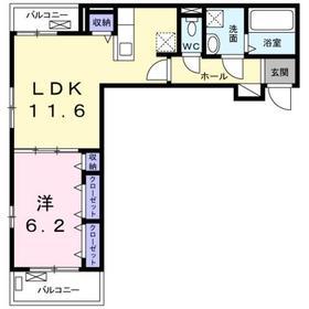 セレジェイラ3階Fの間取り画像