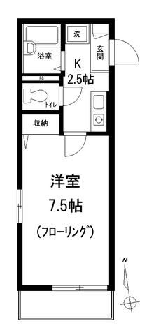 ラ・クロシェット本駒込間取図