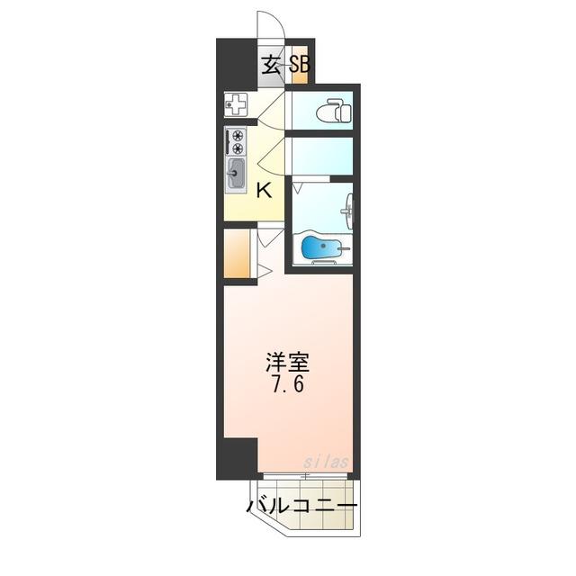 7階の間取り図