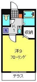 サンマーチ日吉1階Fの間取り画像