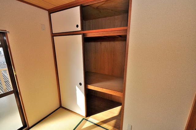 サンフロラ もちろん収納スペースも確保。おかげでお部屋の中がスッキリ。
