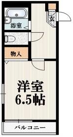 セピアコート213階Fの間取り画像