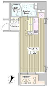 アーバンキューブ九段南4階Fの間取り画像