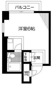 日神パレステージ錦糸町第28階Fの間取り画像