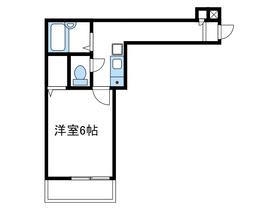ロッシェル南台第62階Fの間取り画像