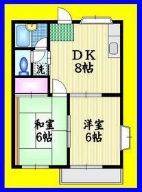 パイン東大泉2階Fの間取り画像