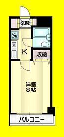GRANDIOSE HIRANO3階Fの間取り画像