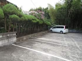 越後ハイツ駐車場