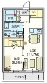 (シニア限定)ヘーベルVillage吉祥寺北3階Fの間取り画像