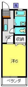 日吉本町駅 徒歩3分2階Fの間取り画像