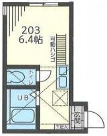 Infina横浜2階Fの間取り画像