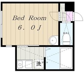 ベイコースト1階Fの間取り画像