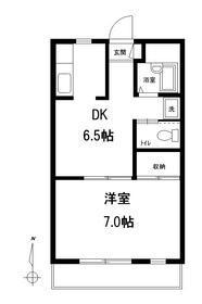 エース桜台2階Fの間取り画像