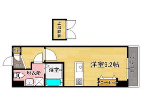 ハーバーサウスタワー No.70 : 8階間取図