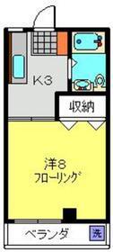 グレイス鈴木3階Fの間取り画像