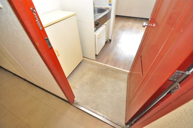 プレアール小若江 シューズボックス完備で玄関周りがスッキリ。