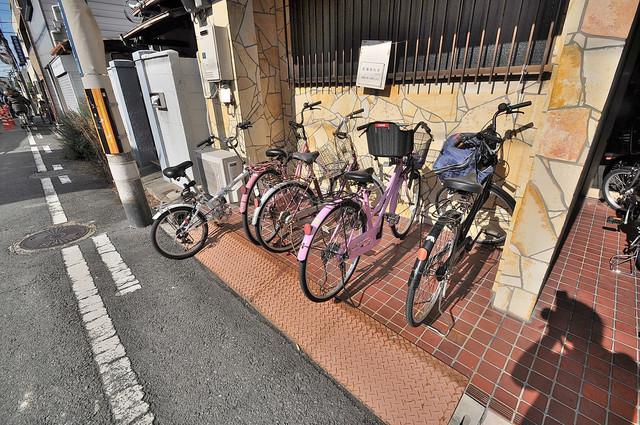 大宝 永和マンション あなたの大事な自転車も安心してとめることができますね。