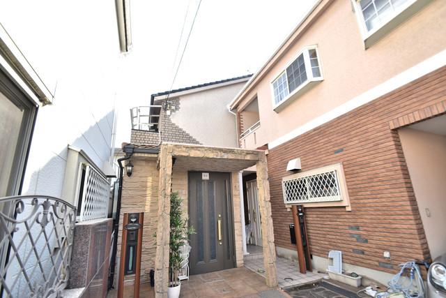 高井田元町2-11-15貸家 綺麗な外観の素敵なお部屋があなたを待っています。