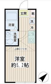 Hilltop横浜1階Fの間取り画像