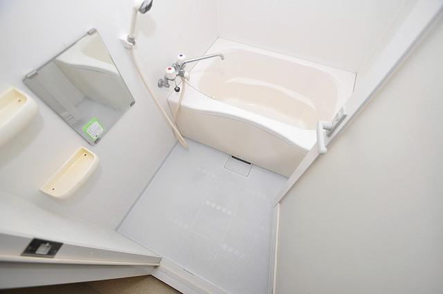 ウォンテ 機能的なバスルームはトイレと別々なので、広々としていますよ。