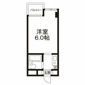 用賀駅 徒歩5分4階Fの間取り画像