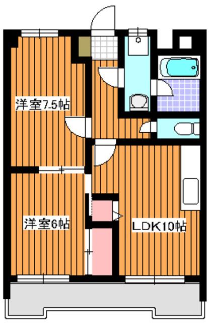 成増駅 徒歩4分間取図