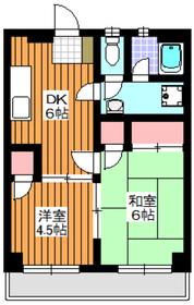 東武練馬駅 徒歩11分2階Fの間取り画像