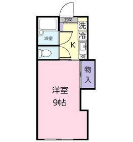 メゾンドセイコー2階Fの間取り画像