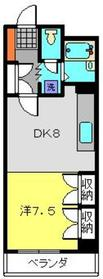 ラ・プリメーラ6階Fの間取り画像