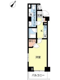 スカイコート板橋参番館2階Fの間取り画像