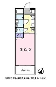 リファインドシーンⅡ3階Fの間取り画像