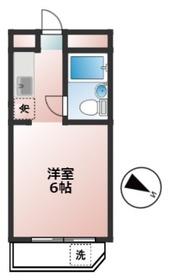 笹塚駅 徒歩3分3階Fの間取り画像