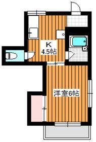 成増駅 徒歩12分2階Fの間取り画像