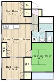 クリオ町田3階Fの間取り画像