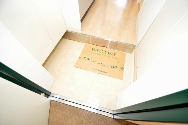 サイプレス小阪駅前 素敵な玄関は毎朝あなたを元気に送りだしてくれますよ。