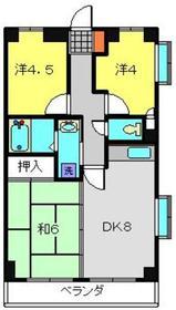 KNSビル2階Fの間取り画像