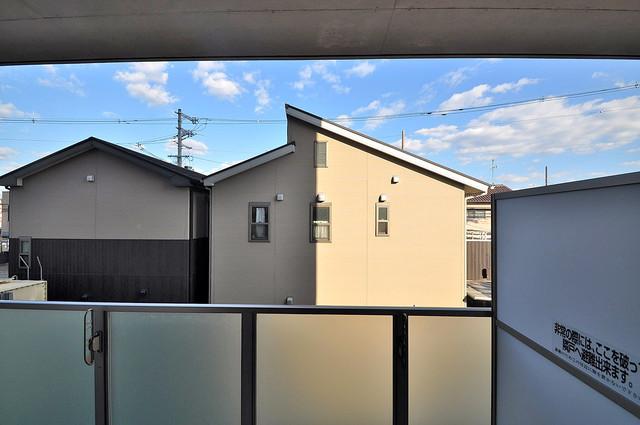 HERITAGE高井田 この見晴らしが日当たりのイイお部屋を作ってます。