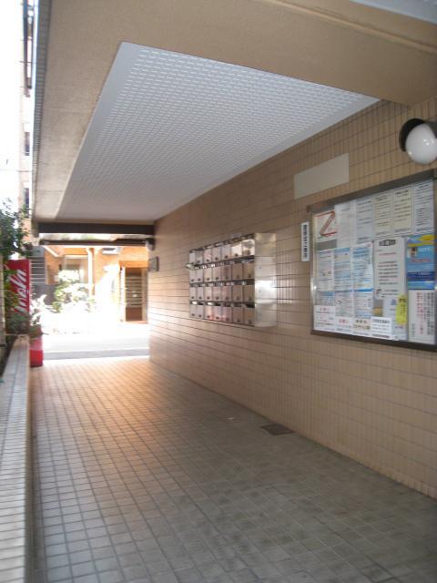 スカイコート川崎7エントランス