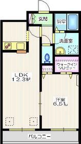 プロミネンス東戸塚1階Fの間取り画像