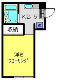 スターハイム1階Fの間取り画像